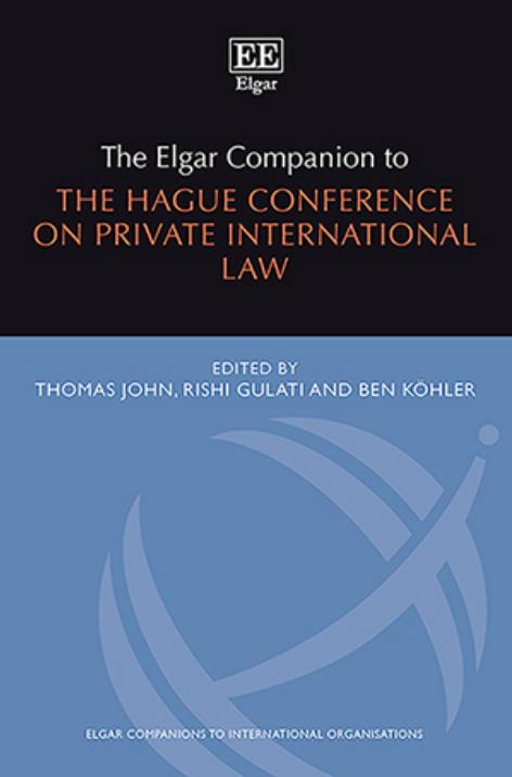 Elgar Companion to HCCH
